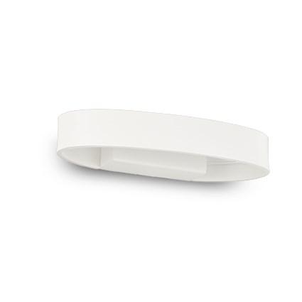 Aplica Ideal Lux Zed AP1 Oval LED 1x5W 22x9.5x3.5cm alb imagine