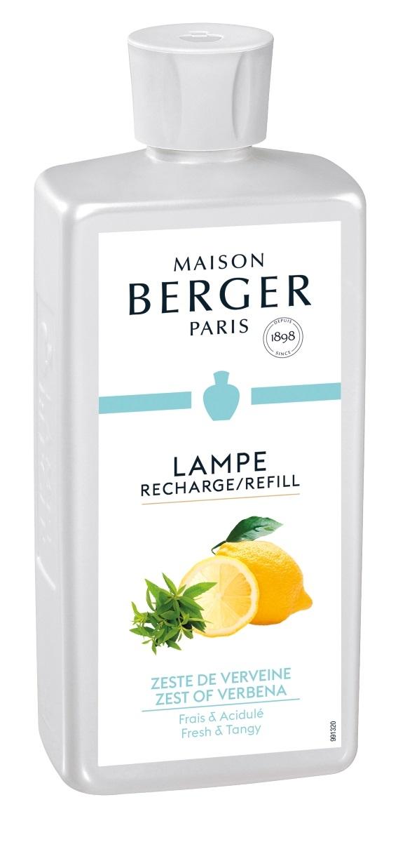 Parfum pentru lampa catalitica Berger Zeste de Verveine 500ml poza