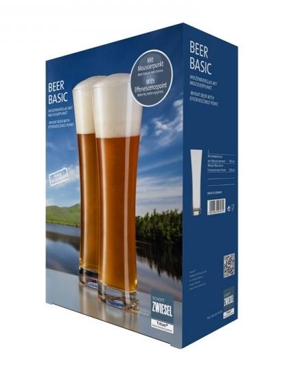 Set 2 pahare bere Schott Zwiesel Beer Basic Wheat 0 5 litri