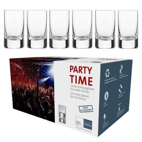 Set 6 pahare Schott Zwiesel Party Time Schnaps 50ml poza