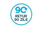 90 de zile RETUR pentru produsele din categoria Casa si Gradina, Baie, Bucatarie