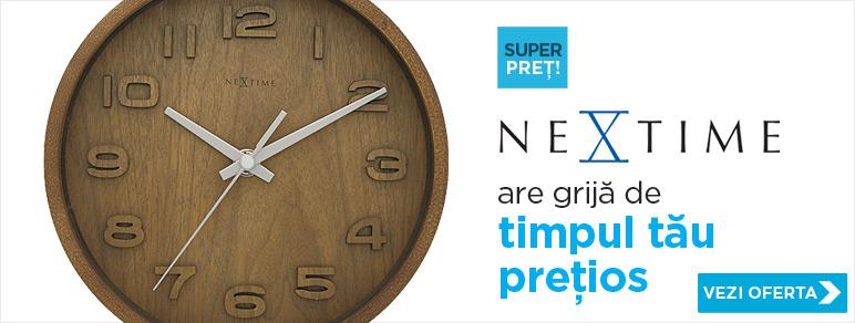 NeXtime - ceasuri care au grija de timpul tau