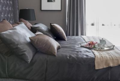 Lenjeria de lux - accesoriu obligatoriu intr-un dormitor somptuos