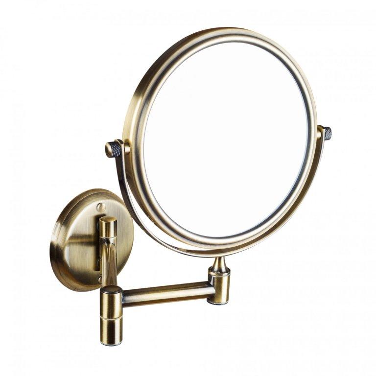 Oglinda cosmetica Bemeta Retro bronz imagine