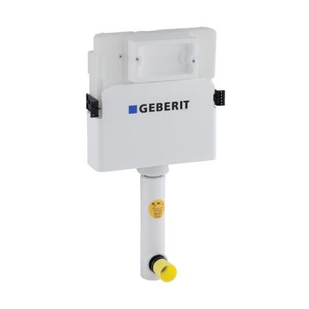 Rezervor incastrat Geberit Delta UP100 de 12 cm grosime cu actionare frontala imagine