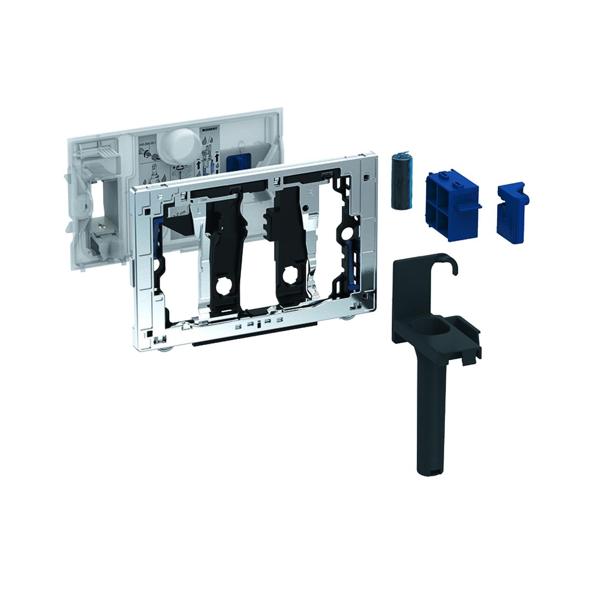 Modul Geberit Duofresh Stick pentru rezervor incastrat Sigma 12cm crom lucios imagine