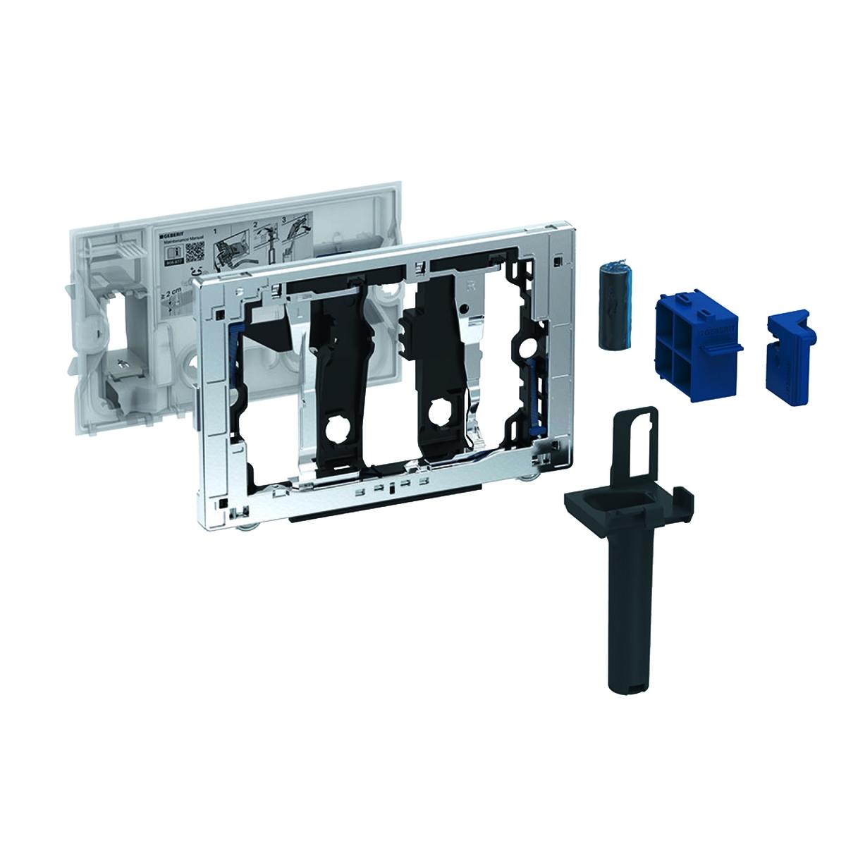 Modul Geberit Duofresh Stick pentru rezervor incastrat Sigma 8cm Gri antracit imagine