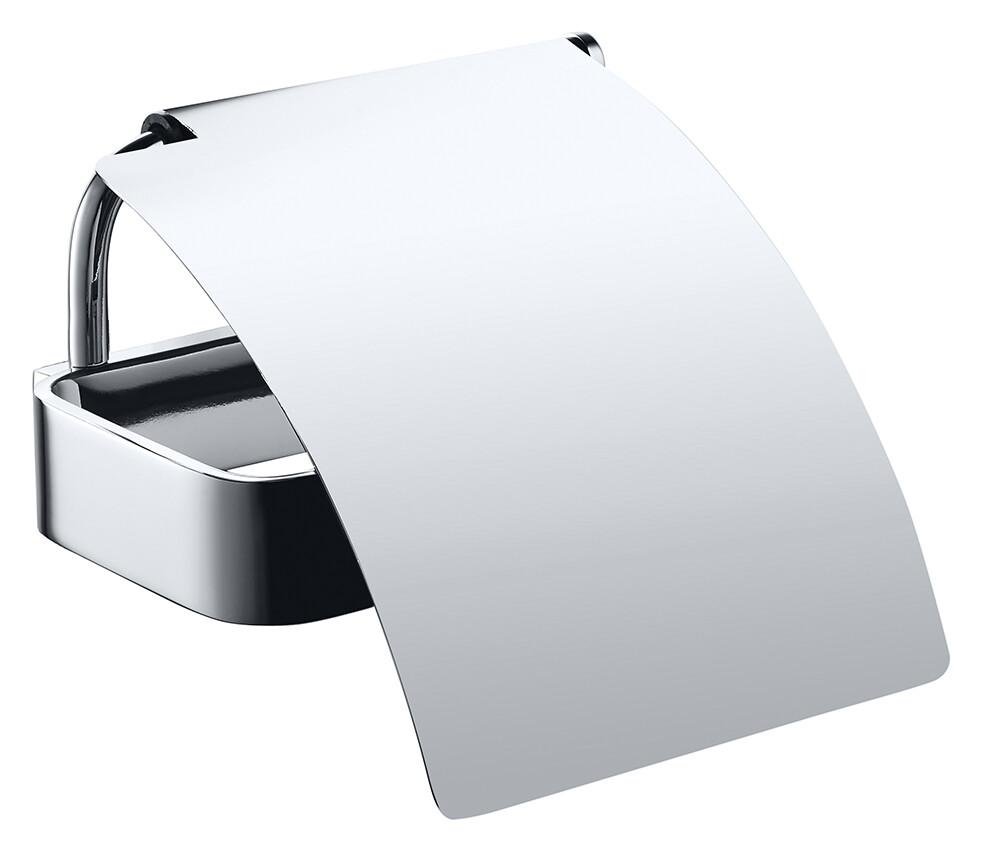 Suport hartie igienica cu aparatoare Bemeta Solo imagine