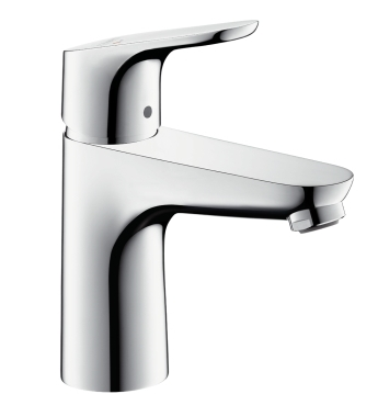 Baterie lavoar Hansgrohe Focus 100 ventil pop-up imagine