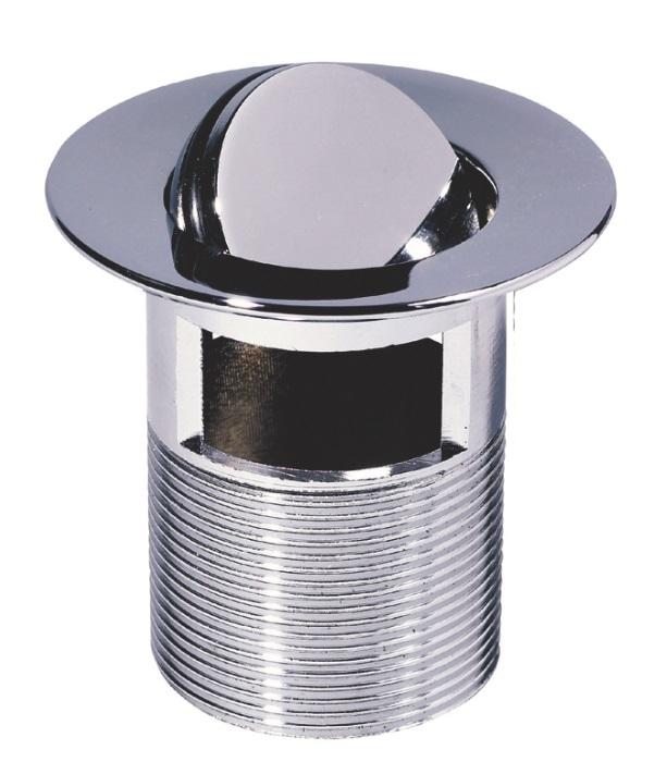 Ventil alama cromat Wirquin PRO 75mm cu dop rotativ anti-vandal cu preaplin imagine