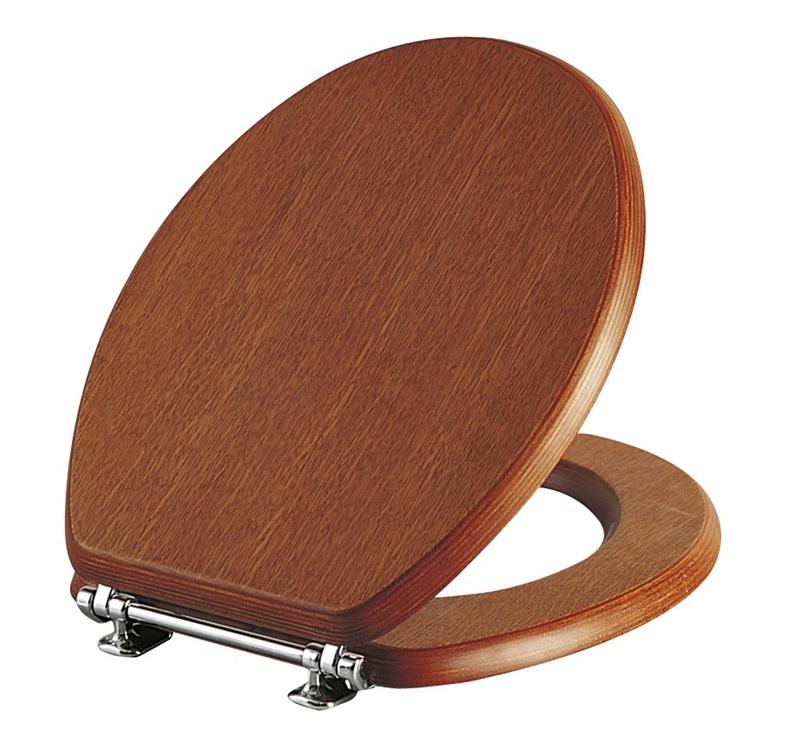 Capac WC Vitra Aria 36cm lemn imagine