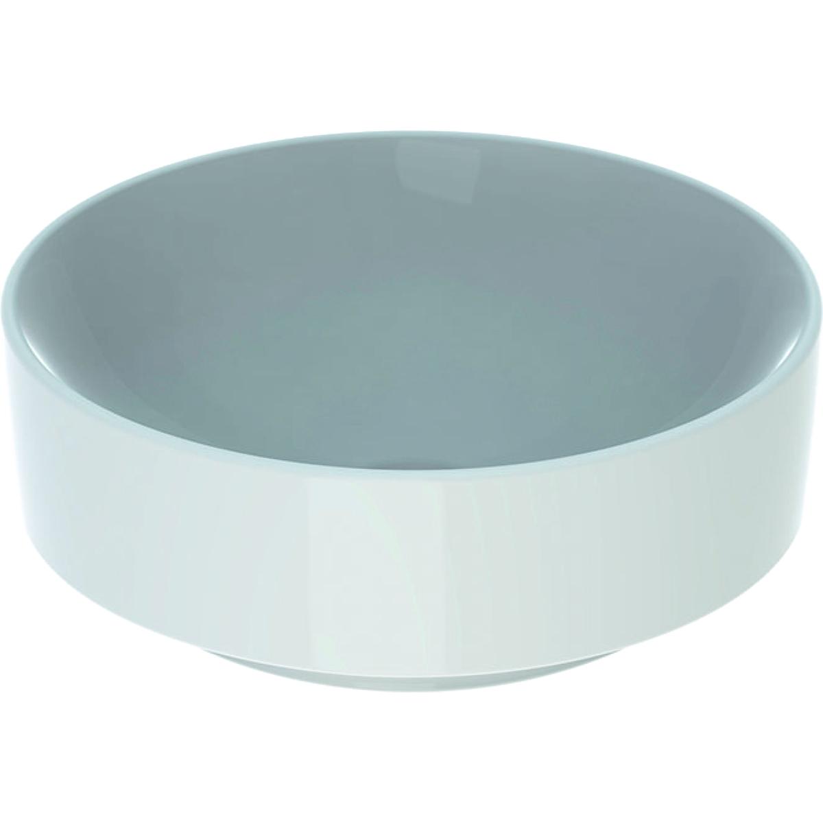 Lavoar rotund tip bol Geberit VariForm 40cm fara orificiu baterie fara preaplin alb imagine
