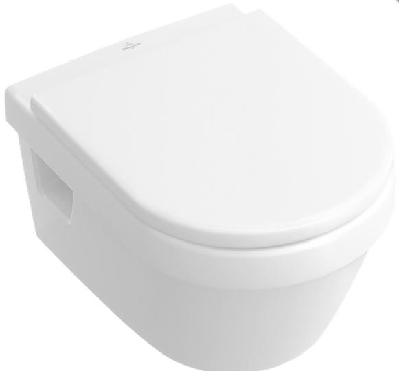 Set vas WC suspendat Villeroy & Boch Omnia Architectura cu capac inchidere lenta imagine