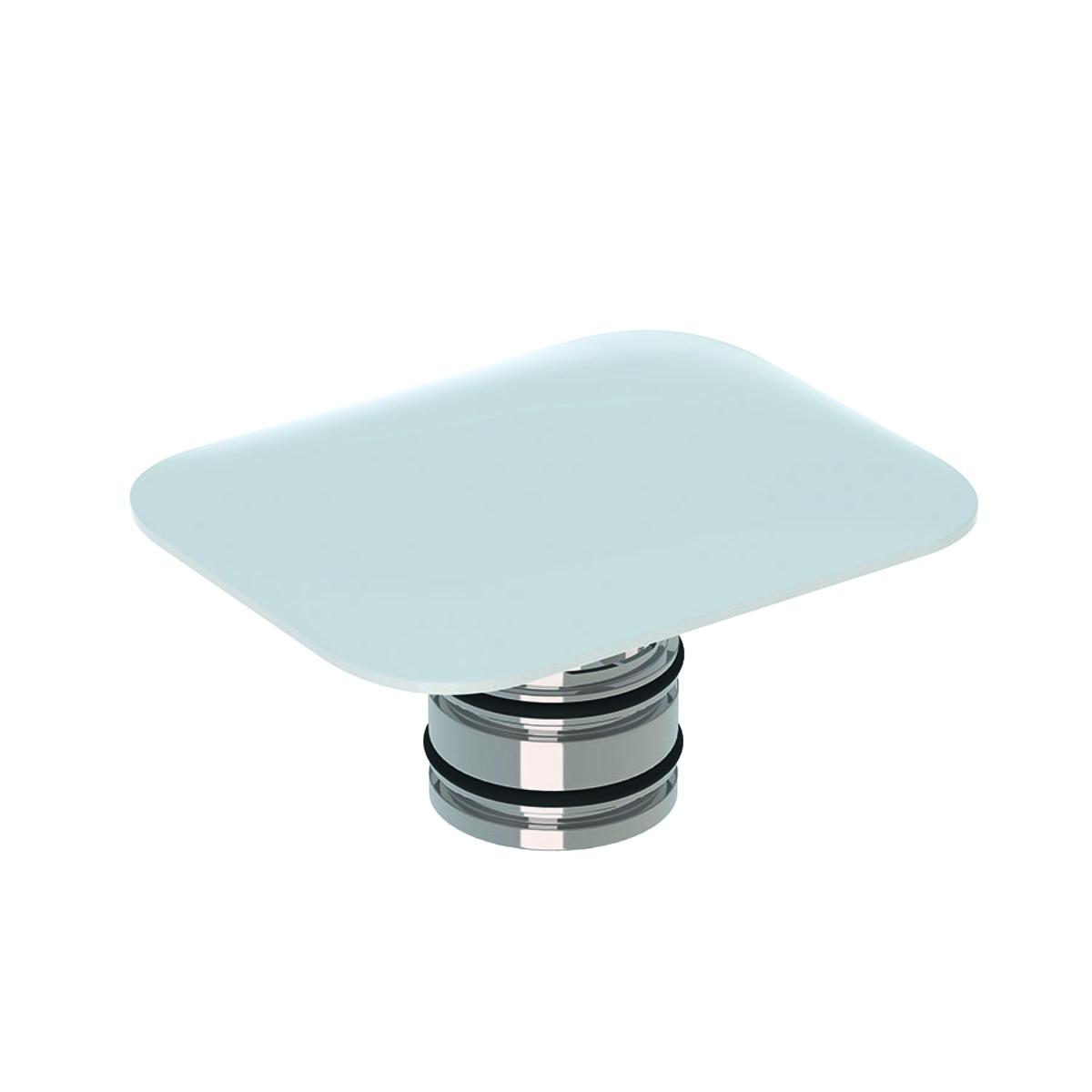 Capac ceramic cu ventil de scurgere Geberit myDay alb imagine