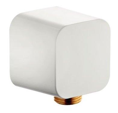 Conector FixFit Kludi A-QA pentru furtun de dus alb imagine