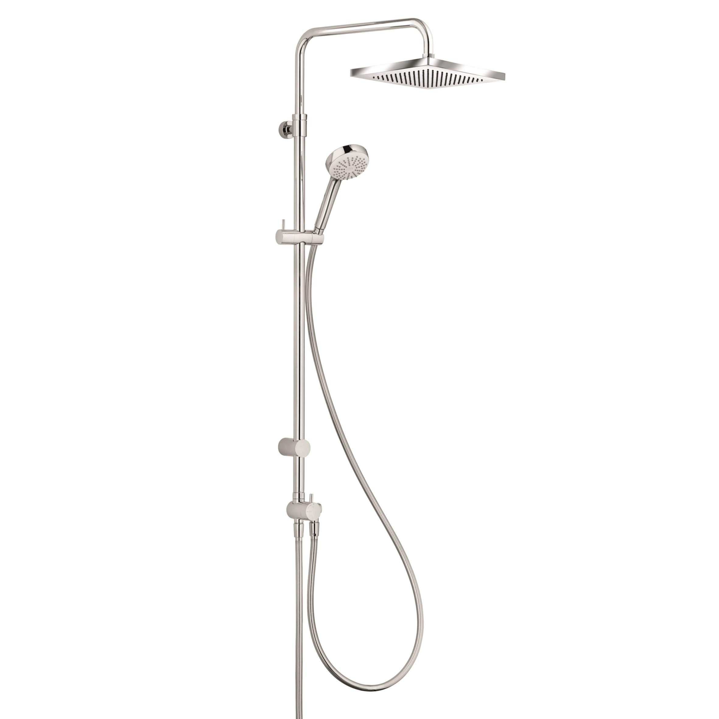 Coloana de dus Kludi Logo 1S Dual Shower fara baterie de dus imagine