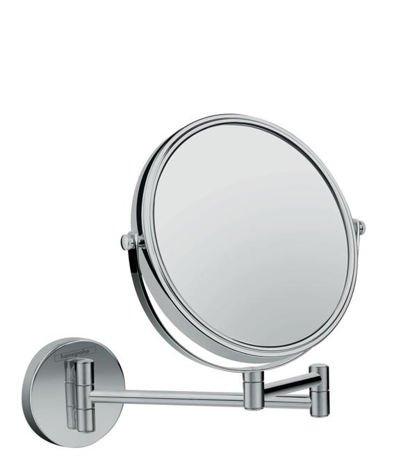 Oglinda cosmetica cu brat Hansgrohe Logis Universal x3 18cm imagine