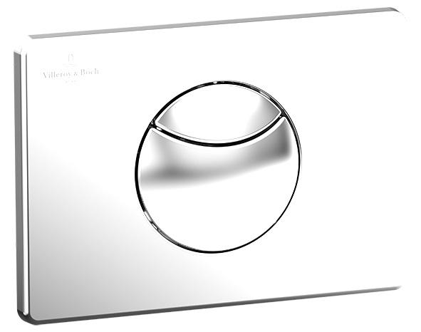 Clapeta cu dubla actionare Villeroy & Boch ViConnect 21x15cm Alb imagine