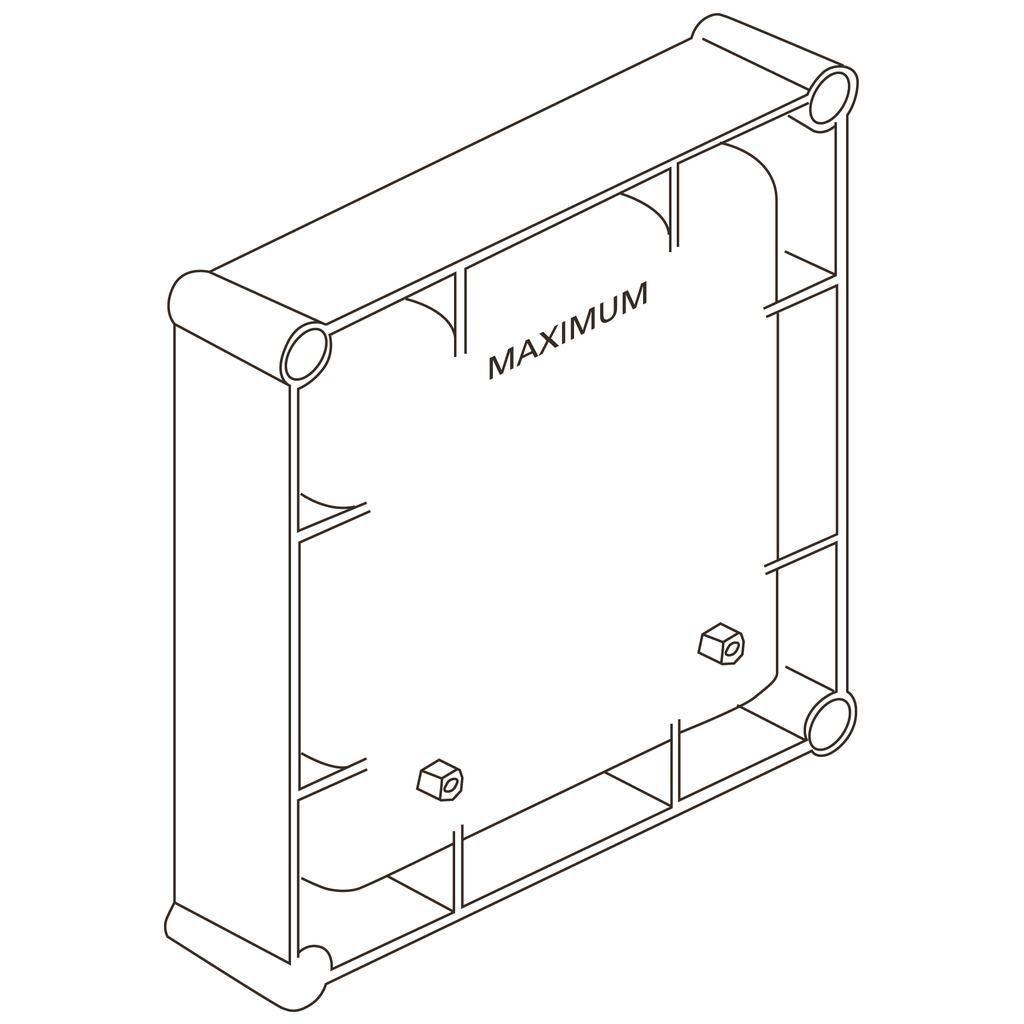 Cutie electronica incastrata Ideal Standard cu alimentare la retea 220V imagine