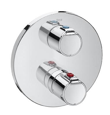 Baterie cada termostatata Roca Victoria T500 montaj incastrat corp incastrat inclus imagine