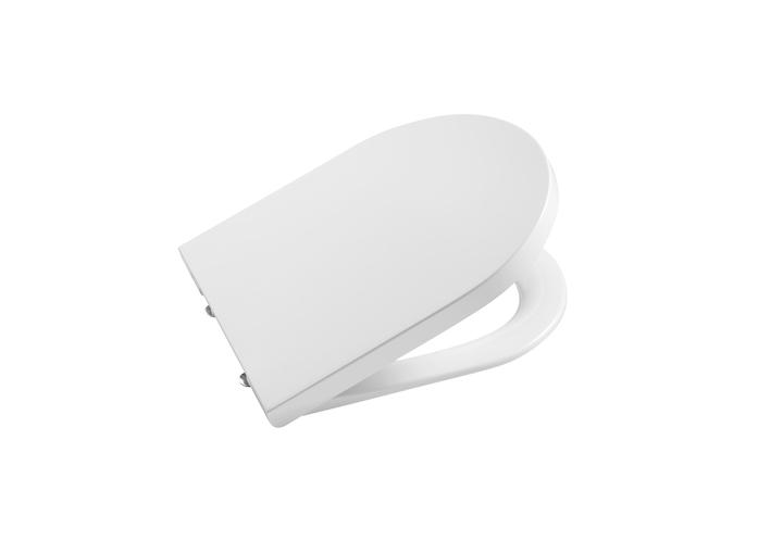 Capac WC Roca Inspira Round compact cu inchidere lenta imagine