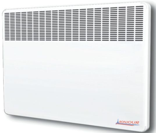 Convector electric Atlantic Bonjour 2000W termostat electromecanic protectie la supraincalzire imagine
