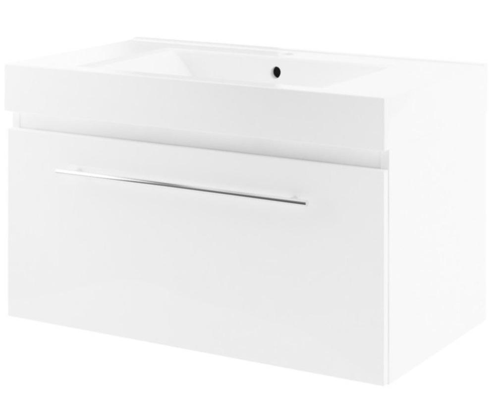 Dulap baza Aquaform Decora 90 89x44x49cm alb imagine