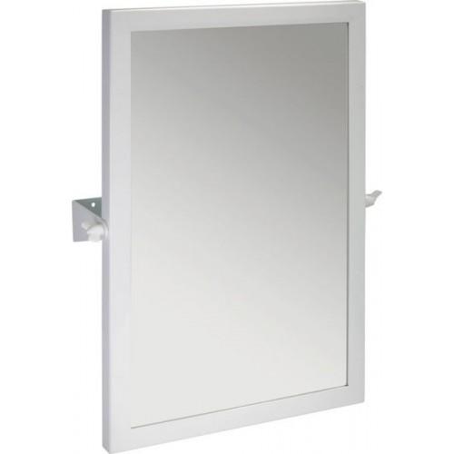 Oglinda pivotanta Bemeta Help 60x40x12cm rama alb imagine