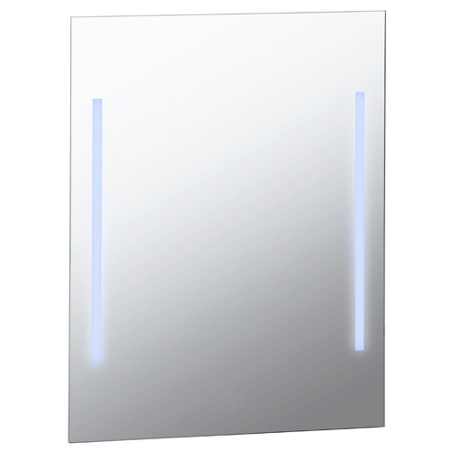 Oglinda Bemeta 60cm x 80cm cm cu sistem de iluminare lateral imagine