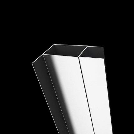 Profil extensie Radaway Vesta DWJ-DWD, tip U, 4cm