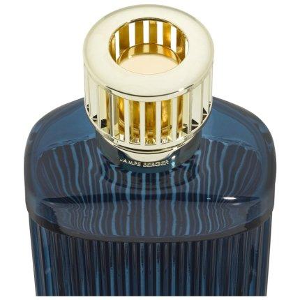 Set Berger lampa catalitica Berger Alpha Imperial Blue cu parfum Under the Olive Tree 250ml