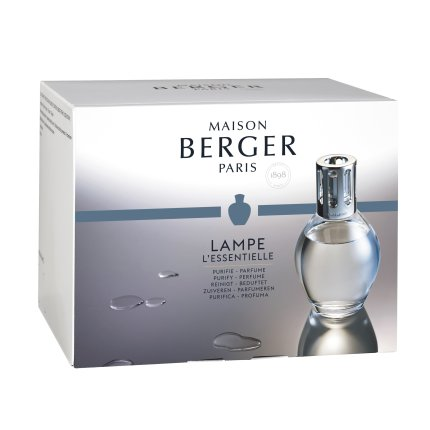 Set Berger lampa catalitica Essentielle Ovale cu parfum Zeste de Verveine si So Neutral