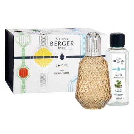 Set Berger lampa catalitica Matali Crasset Chestnut cu parfum Seve Eternelle