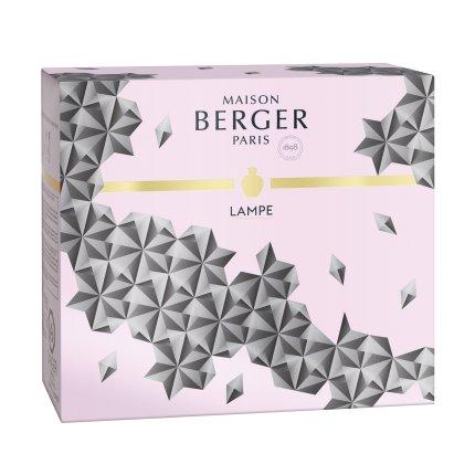 Set Berger lampa catalitica Berger Black Crystal cu parfum Delicate White Musk