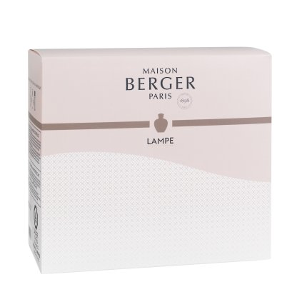 Set lampa catalitica Berger Senso cu parfum Fleur de Musc