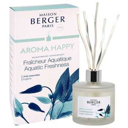 Difuzor parfum camera Berger Aroma Happy Fraicheur Aquatique 180ml