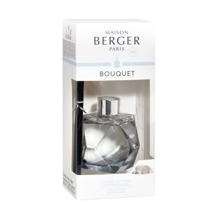 Difuzor parfum camera Berger Bouquet Parfume Geometry Reglisse - Caresse de coton 180ml