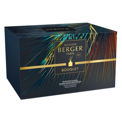 Difuzor parfum camera Berger Bouquet Parfume Temptation Chocolat Tentation Santal 200ml