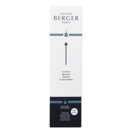 Set 8 betisoare sintetice negre 24cm pentru difuzor Berger