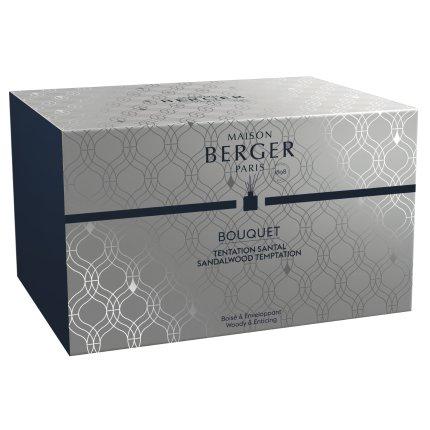 Difuzor parfum camera Berger Bouquet Parfume Belle Epoque Grise Sandalwood Temptation 200ml