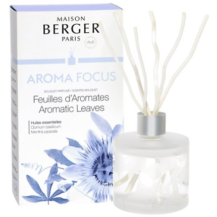 Difuzor parfum camera Berger Aroma Focus Aromatic Leaves 180ml