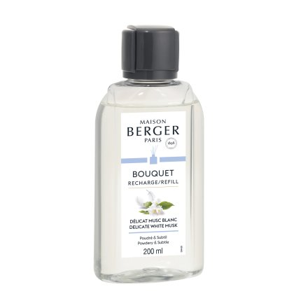 Parfum pentru difuzor Berger Delicate White Musk 200ml
