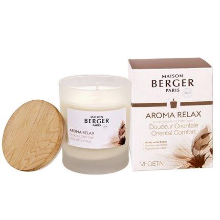Lumanare parfumata Berger Aroma Relax Douceur Orientale 180g