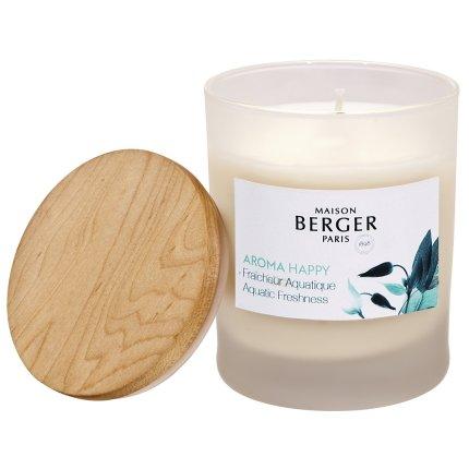 Lumanare parfumata Berger Aroma Happy Fraicheur Aquatique 180g