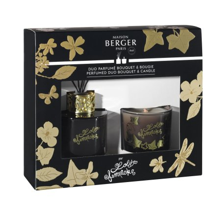 Set Berger Duo Lolita Lempicka Noir Bouquet Parfume 80ml + lumanare parfumata 80g
