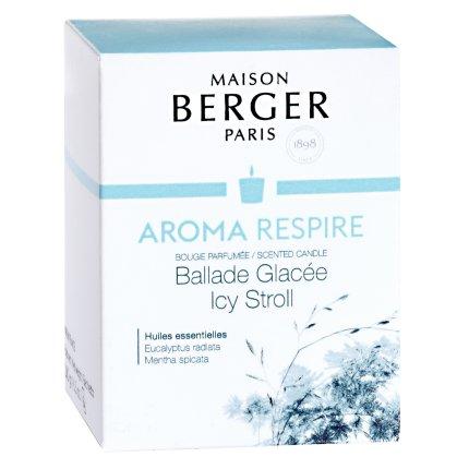 Lumanare parfumata Berger Aroma Respire Icy Stroll 180g
