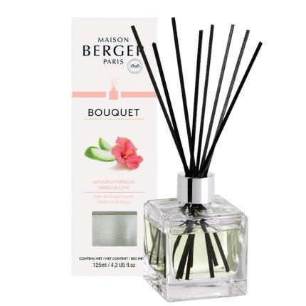 Difuzor parfum camera Berger Bouquet Parfume Cube Hibiscus Love 125ml