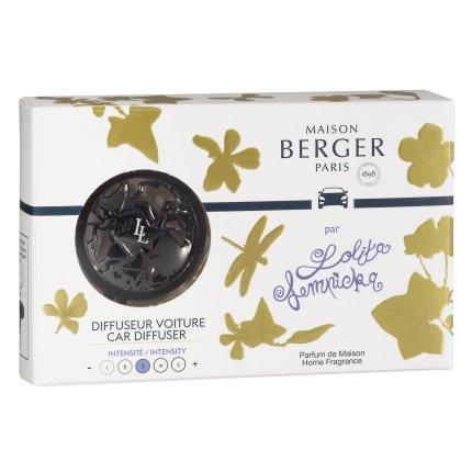 Set odorizant masina Berger Lolita Lempicka - Gun metal + rezerva ceramica