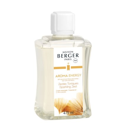 Parfum pentru difuzor ultrasonic Berger Aroma Energy - Zestes Toniques 475ml