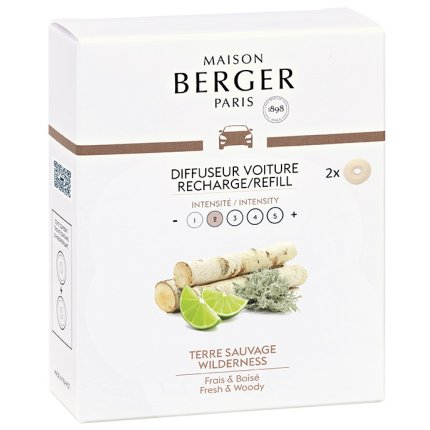 Rezerve ceramice odorizant masina Berger Terre Sauvage 2piese